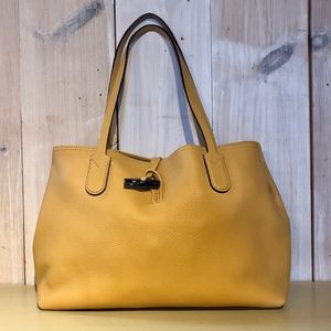 Longchamp Roseau Essential Medium Leather Tote